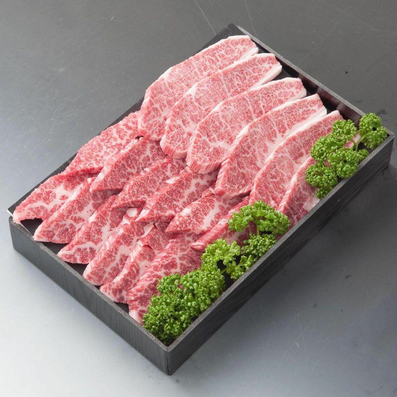 【こちらの商品は最短2~3営業日発送の商品です】食べくらべ!!米沢牛A5くろげ焼肉セット 500g